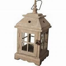 lanterne en bois lanterne bois et m 233 tal c 233 rus 233 e d 233 coration decotaime fr