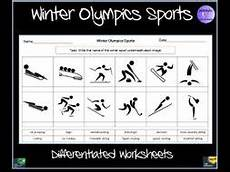 winter sports worksheets 15893 winter olympics sports worksheet teaching resources