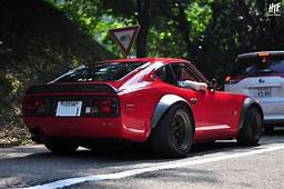 S30 Red Flares Low  Datsun 240z Cars