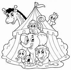 Ausmalbilder Zirkus Elefant Tiere Zirkustiere Zum Ausmalen Zum Ausmalen Wenn Du Mal