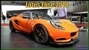 Lotus Elise 2018  Review Interior