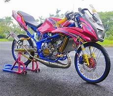 Modifikasi 150 Rr by Gambar Modifikasi Kawasaki Rr 150 Terbaru