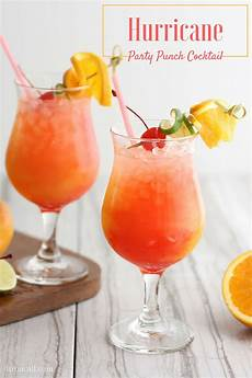 hurricane party punch recipe bread booze bacon