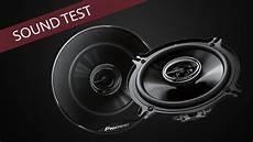 peugeot 206 rear door speakers sound test pioneer ts