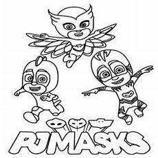 12 best ausmalbilder pj masks images pj masks coloring