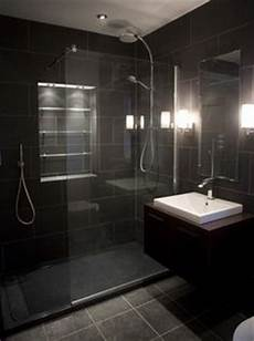 1000 Images About Bold Black Bathrooms On