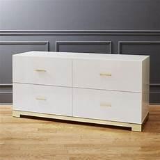 White Low Dresser odessa low white gloss dresser