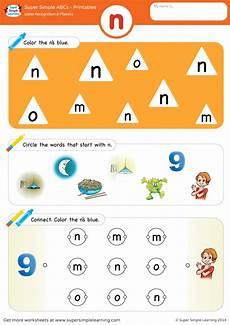 letter n phonics worksheets 24159 letter recognition phonics worksheet n lowercase simple