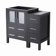 Espresso Bathroom Vanity Home Depot by Fresca 36 In Torino Modern Bathroom Vanity Cabinet In