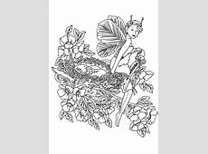 Kids n fun.com   40 coloring pages of fairies