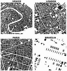 figure ground diagrams of urban form and building