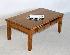 Couchtisch Holz Massiv Wohnzimmertisch 110x65 Honig