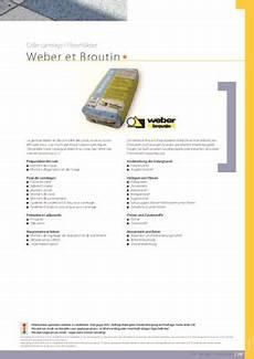 Enduit Weber Broutin Pdf Notice Manuel D Utilisation