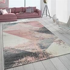 teppich rosa grau kurzflor teppich used look rosa bunt teppich de