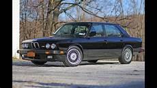 Bmw E28 M5 Review The Legend 1988 Model