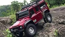 traxxas land rover traxxas trx 4 landrover defender 110 rock crawling
