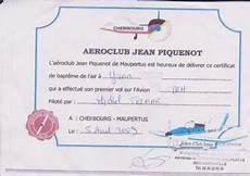 certificat de l air mon certificat de bapteme de l air de yann221197