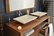 meuble pour vasque bien acheter ensemble meuble et vasque consobrico