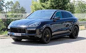 2020 Porsche Cayenne Coupe Spied Yep A Fastback Version