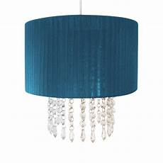 30cm easy fit chandelier acrylic pendant ceiling light shade fitting