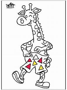 giraffe 5 malvorlagen zoo