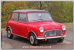 1964 Austin Mini Cooper S  Cars