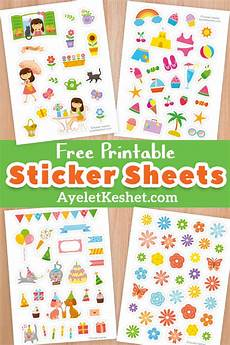 free printable stickers ayelet keshet