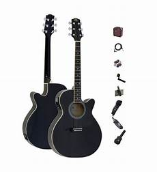 Essex Sx Eag1 Small Acoustic Electric Guitar Package