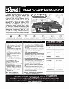 download car manuals pdf free 1987 buick regal windshield wipe control revell donk 1987 buick grand national radio controlled rc model download user guide for free