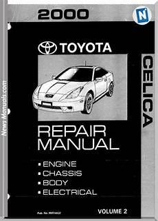 car repair manuals online free 1978 toyota celica windshield wipe control toyota celica repair manual volume 2