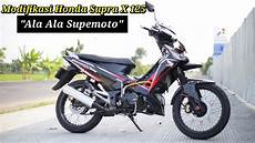 Supra Supermoto by Honda Supra X 125 Modifikasi Quot Ala Ala Supermoto