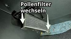 pollenfilter golf 7 innenraumfilter pollenfilter wechseln bei skoda vw
