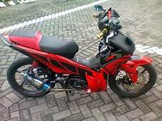 Revo Modifikasi Warna by Modifikasi Revo Warna Biru Thecitycyclist