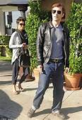 Halle Berry And Olivier Martinez Attend A Thanksgiving