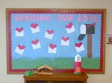 sending our love display classroom displays class display heart letter valentines day love