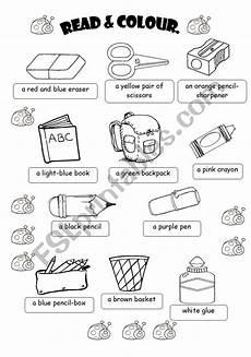 colors and school objects worksheets 12788 classroom objects worksheet imparare inglese inglese lingua inglese