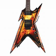 Dean Razorback Electric Guitar Explosion W At