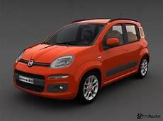 Fiat Panda 2013 3d Model