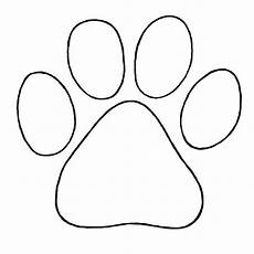 puppy paw to trace