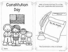 constitution day reader for first grade and kindergarten social studies constitution day
