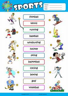 sports worksheets for toddlers 15796 fdlr sports vocabulary