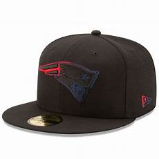 s new patriots new era black color dim 59fifty