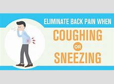 back pain when you cough or sneeze