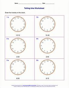time clock worksheets 2nd grade 3618 telling time worksheets for 2nd grade