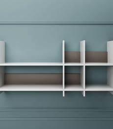 mensole autoportanti mensole moderne dai un tocco di design alla tua libreria