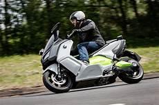 bmw unveils quot near production quot c evolution electric scooter