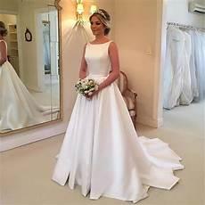 Simple Wedding Dresses 2019