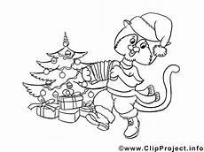 Malvorlage Katze Weihnachten Ausmalbild Zum Ausdrucken Katze Am Weihnachtsbaum
