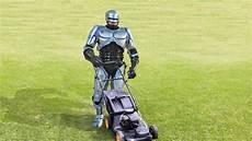 risks of a robotic lawn mower