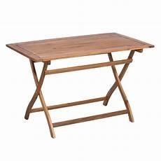 Gartentisch Klappbar Holz - outliv toulouse klapptisch 120x70 cm akazie fsc garten